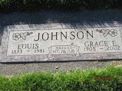 Grace Edna <i>Alspach</i> Johnson