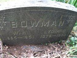 Lydia Catherine <i>Gutherol</i> Bowman