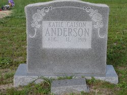 Katie Eugenia <i>Caison</i> Anderson
