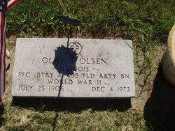Olaf A Olson