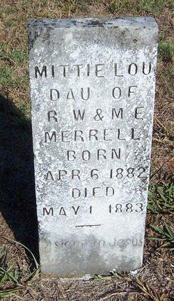 Mittie Lou Merrell