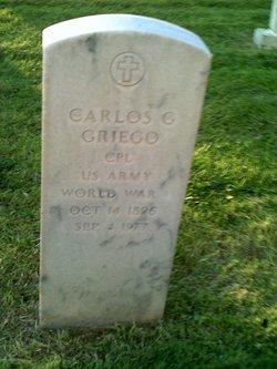 Carlos G Griego