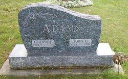 Gladys E <i>Schultz</i> Adams