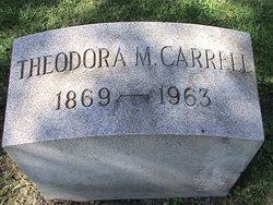 Theodora May Carrell
