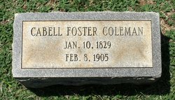 Cabell Foster Coleman