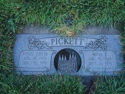 Violet Irma <i>Exeter</i> Pickett