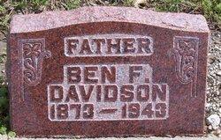 Ben F Davidson