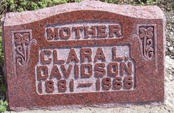 Clara Lemenda <i>Shepard</i> Davidson