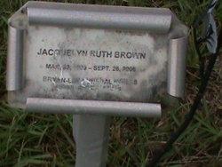 Jacquelyn Ruth Jackie <i>Leingang</i> Brown
