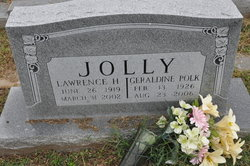 Geraldine <i>Polk</i> Jolly