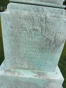 Catherine <i>Partridge</i> Adams