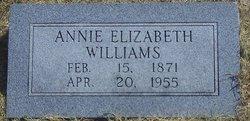Annie Elizabeth Williams