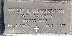 Phillip R Newberg, III