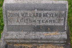 John Willard Heylmun