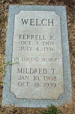 Ferrell K Welch