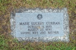 Marie <i>Luckey</i> Curran