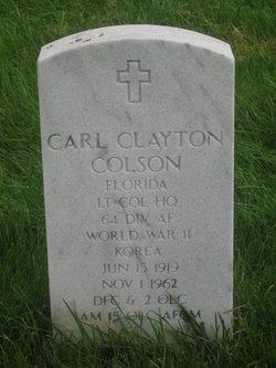 Carl Clayton Colson