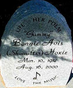 Bonnie Avis <i>Showalter</i> Hoxie