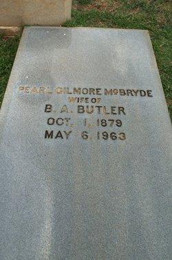 Pearl Gilmore <i>McBryde</i> Butler