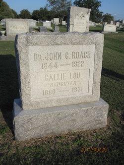 Dr John C. Roach
