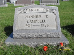 Nannile T <i>Wright</i> Campbell