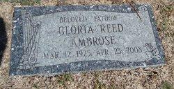 Gloria <i>Reed</i> Ambrose