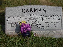 Beverly June <i>Gipson</i> Carman