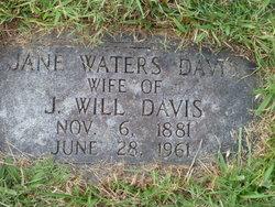 Hulda Jane <i>Waters</i> Davis
