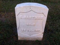 Pvt Christopher Hartman