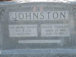 Rev James Oliver Johnston