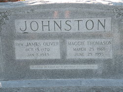 Maggie P <i>Thomason</i> Johnston