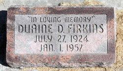 Duaine D Firkins
