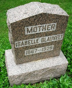 Zorada Isabelle <i>Mitchell</i> Blauvelt