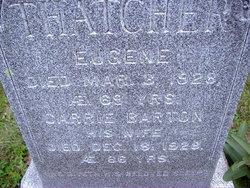 Carrie Eliza <i>Barton</i> Thatcher