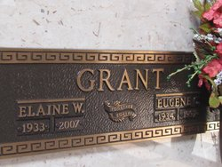 Allie Elaine <i>Williams</i> Grant