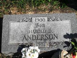 Harold D. Anderson