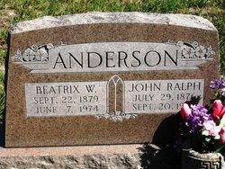 Beatrix W. Anderson