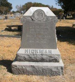 Mary Elizabeth Mollie <i>Kerley</i> Hickman