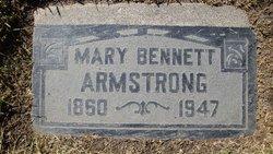 Mary Emily <i>Bennett</i> Armstrong