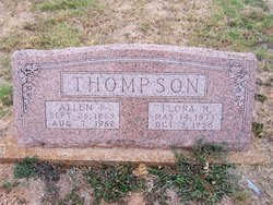 Flora Melinda <i>Williams</i> Thompson
