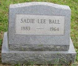 Sadie <i>Black</i> Ball
