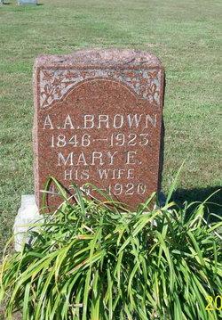 A. A. Brown