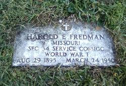 Spec Harold E Fredman