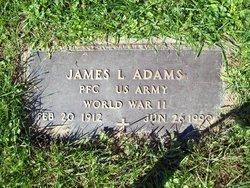 PFC James L Adams