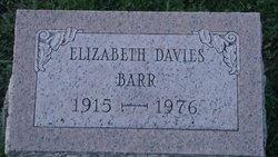 Elizabeth L. Betty <i>Davies</i> Barr