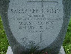 Sarah Lee <i>Bowman</i> Boggs