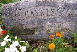 Donald Fredrick Haynes