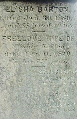 Freelove <i>Shaw</i> Barton