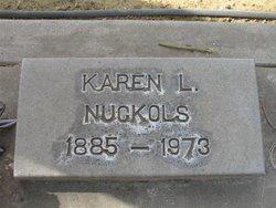 Eliza Karen L <i>Hood</i> Nuckols