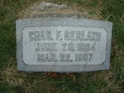 Charles F Gerland